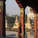 Monastre Karma Samtenling ˆ Lumbini au NŽpal/Karma Samtenling m
