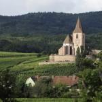 F68.Eglise gothique de Hunawihr/Gothic church in Hunawihr