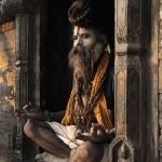 Sadou ˆ Pashupatinath Katmandou/sadu in Pashupatinath Kathmandu