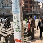 Rue ˆ Katmandou/street of Kathmandu
