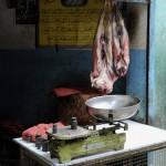 Boucherie ˆ Katmandou/butchery in Katmandou