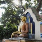Statue de Bouddha Katmandou