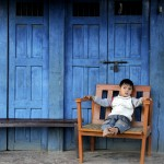 Enfant nŽpalaise ˆ Pokhara